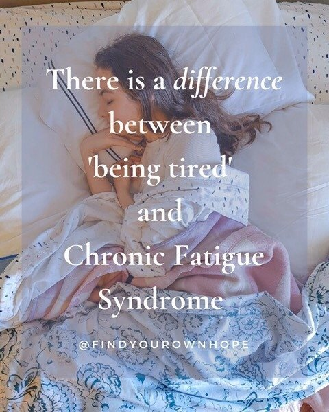 The Difference Between 'Being Tired' and Chronic Fatigue Syndrome